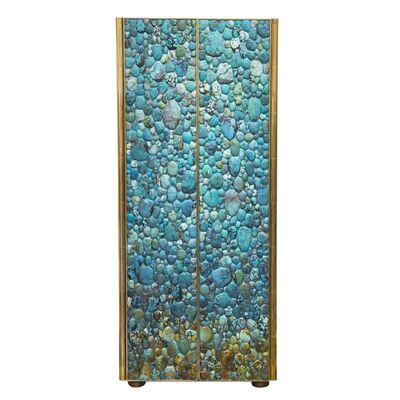 KAM TIN, 'Turquoise cabinet', 2016