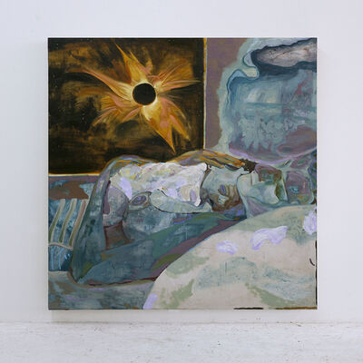 Joshua Hagler, ' Sleeping In (The Light of the Sun's Corona)', 2020