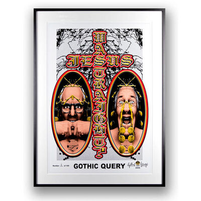 Gilbert and George, 'Gothic Query', 2006