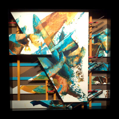 Eric Hartley, 'Intersections in Versicolor #28', 2014
