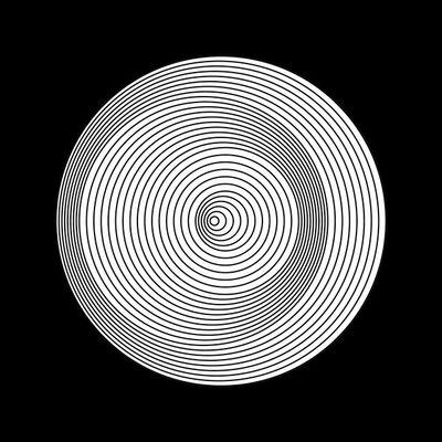 Marina Apollonio, 'Dinamica Circolare Cratere P Ø 30'