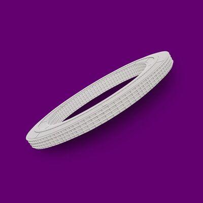 Langlands & Bell, 'Apple (Oblique) Purple', 2016
