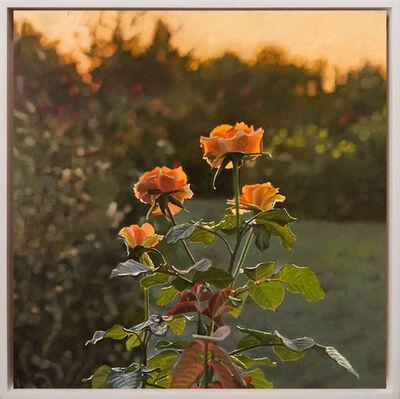 Jeffrey Vaughn, 'Roses at Sunset', 2020