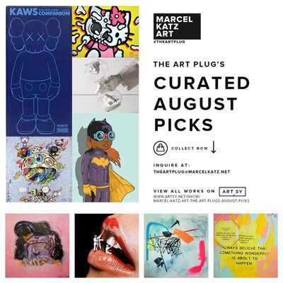 The Art Plug's August Picks, installation view