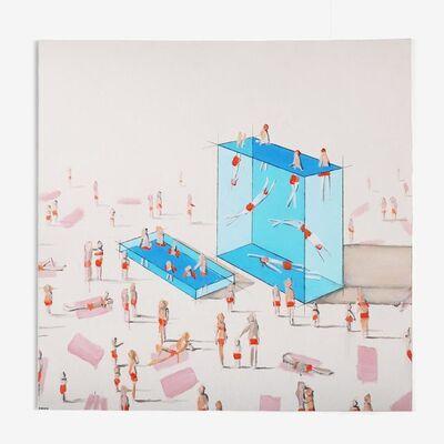 Eddie K., 'Pools 24-25U', 2018