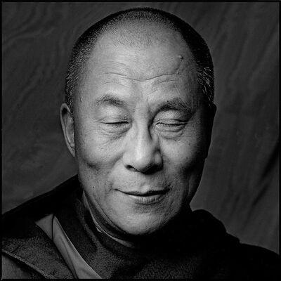 Clive Arrowsmith, 'HH Dalai Lama', 2001