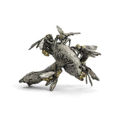 Mielle Harvey, 'Wasps on Mushroom Brooch'