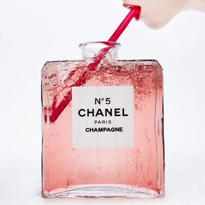Tyler Shields, 'Chanel Champagne', 2019