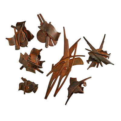 Albert Paley, 'Four sets and three individual door medallions, Rochester, NY', 1994