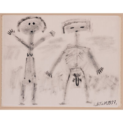 Victor Brauner, 'Couple'