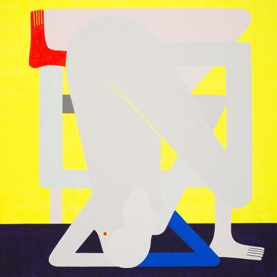 Richard Colman, 'Awkward Figure (Yellow)', 2016