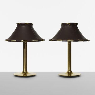 ANNA EHRNER, 'Lamps, pair', 1970