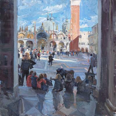 Mikael Olson, 'Piazza San Marco', 2018