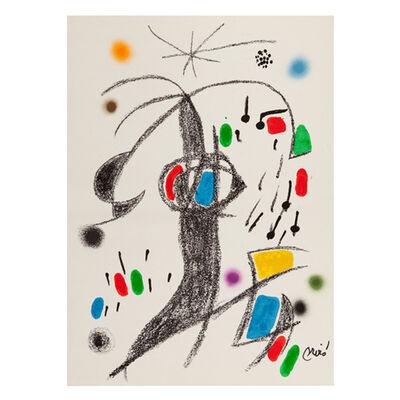 Joan Miró, 'Maravillas con variaciones acrósticas en el jardín de Miró - 19', 1975