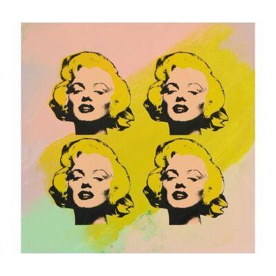 Steve Kaufman, '4 Marilyn Monroes', 1980-2010