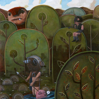 Nathan Durfee, 'Sparrow was Lookout'