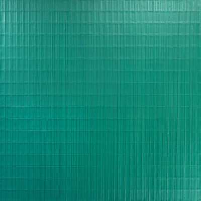 Sebastien Mehal, 'Façade architecturale - Monochrome vert', 2019