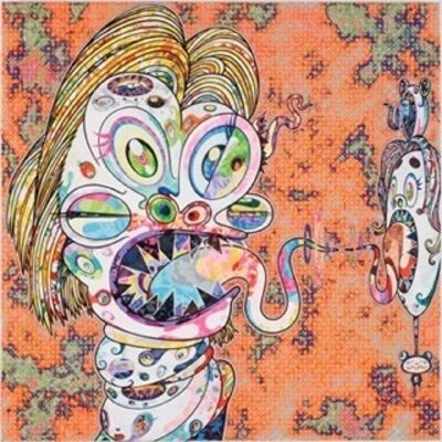 Takashi Murakami, 'Homage to Francis Bacon (Study for Head of Isabel Rawsthorne and George Dyer)'