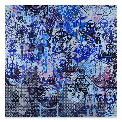 Ryan McGinness, 'A Willing Victim', 2015