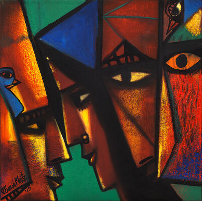 Paresh Maity, 'Colour of Life', 2015