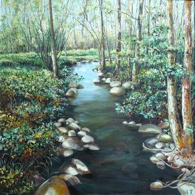 Zhang Shengzan 张胜赞, 'Creek', 2016