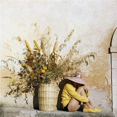 Jacques Henri Lartigue, 'Florette in Piozzo, Italy', 1960