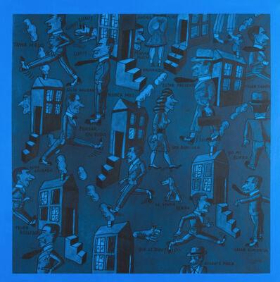 Antonio Seguí, 'Sueño Azul', 2017