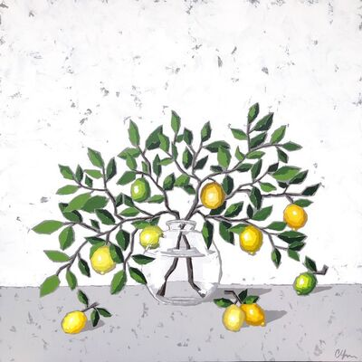 Christie Younger, 'Lemons in Glass', 2019