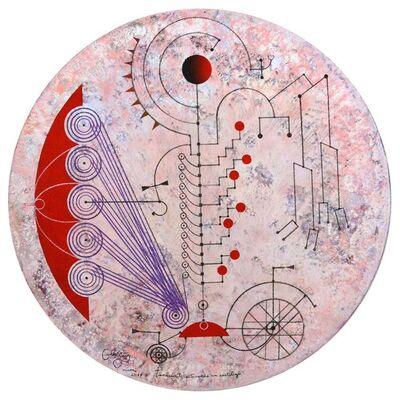 Carlos Estévez, 'Transeúnte activando un sortilegio [Transient Activating a Spell]', 2017