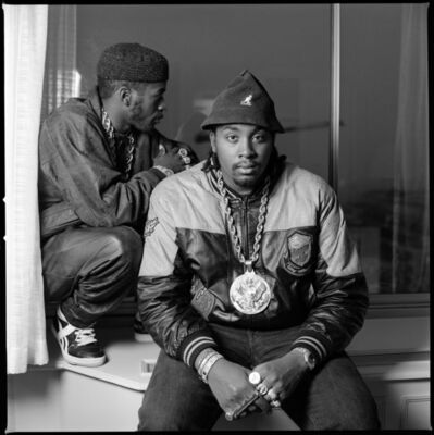 David Corio, 'Eric B (r) & Rakim (l) at the Kensington Hilton, London, UK ', 1987