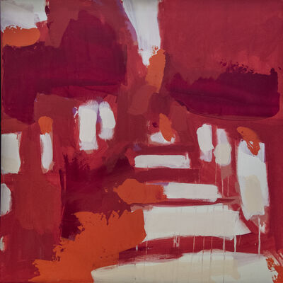 Carlos Davila Rinaldi, 'Carretera Red Orange', 2006