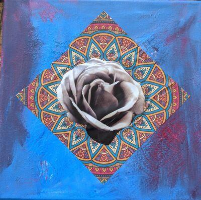 Karin Skiba, 'Mandala Rose', 2021
