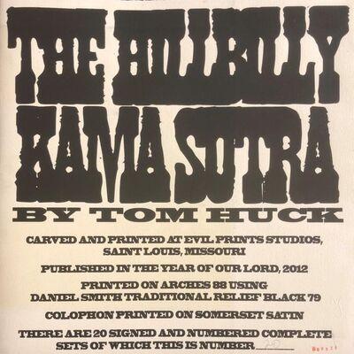 Tom Huck, 'The Hillbilly Kama Sutra ', 2012