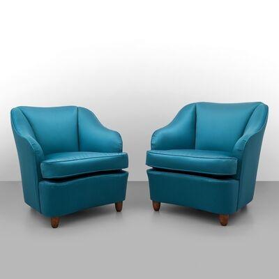 Gio Ponti, 'Two armchairs made for CASA E GIARDINO', 1938