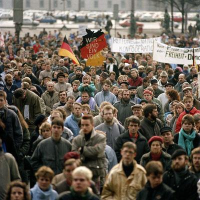 Thomas Billhardt, 'Wir sind ein Volk', 1989