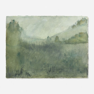 Leonard Baskin, 'Seasons Song: Summer Landscape'