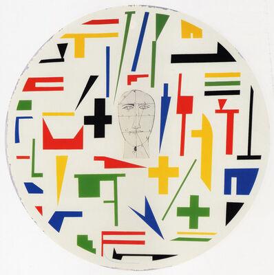 Mimmo Paladino, 'Shield 3', 1999