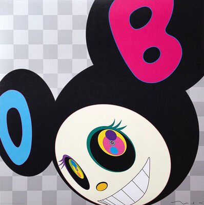 Takashi Murakami, 'And Then/Black', 2006