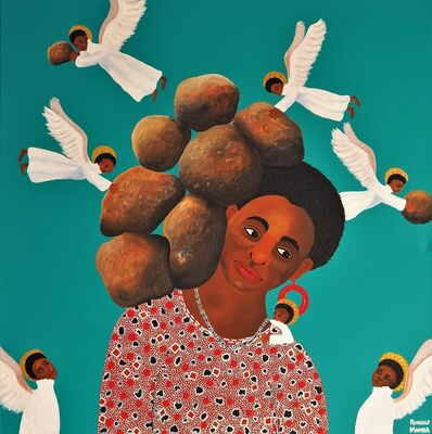 Phindile Mamba, 'The angels ease my burdens', 2019
