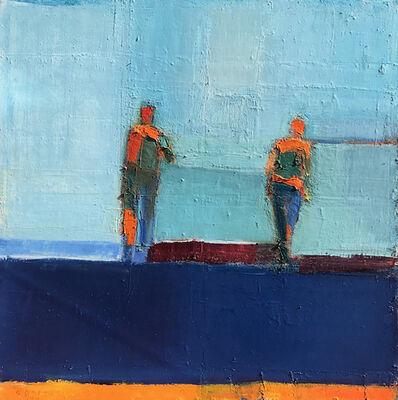 Sandy Ostrau, 'Into Blue', 2019