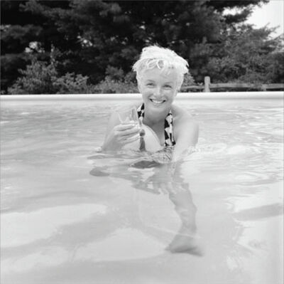 Milton H. Greene, 'Marilyn Monroe, Pool'