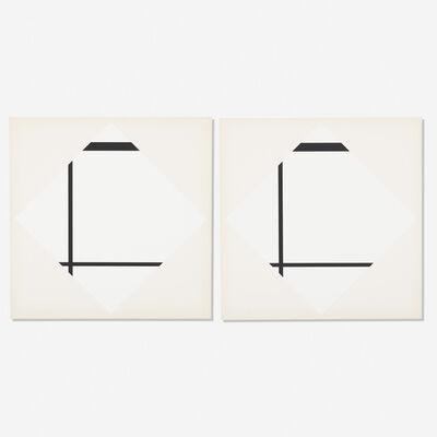 Piet Mondrian, 'Foxtrot from Piet Mondrian: A Portfolio of Ten Paintings (two works)', 1967