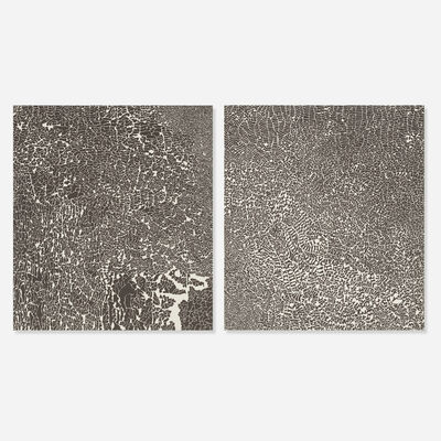 Bruce Conner, '#504 and #503 (from SET OF FIVE) (two works)', 1970