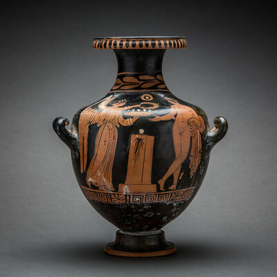 Unknown Greek, 'Apulian Red-Figure Hydria', 400 BCE-300 BCE
