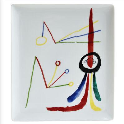Joan Miró, 'Rectangular Platter ', 2020
