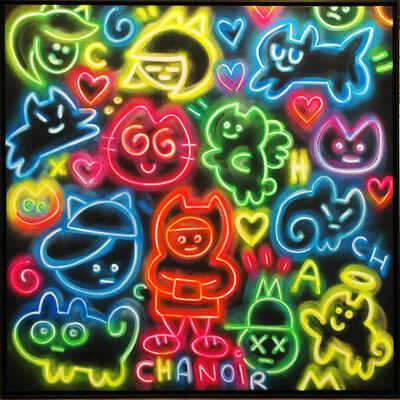 CHANOIR (Alberto Vejarano), 'Chas Néon Multicolores ', 2021