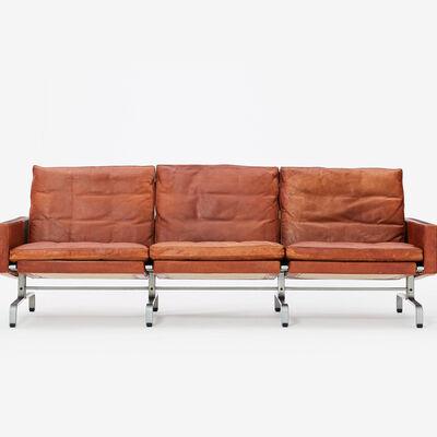 Poul Kjærholm, 'PK 31-3 Patinated Original Leather (EKC)', ca 1960 -1977 (designed 1958)
