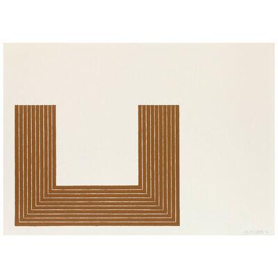 Frank Stella, 'Lake City', 1970