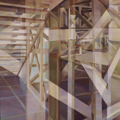 Nancy Newman Rice, 'Wooden Structure II', 2015