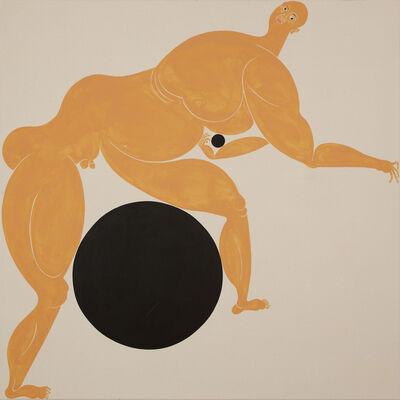 Giovanni Garcia-Fenech, 'Seft-portrait with Two Problems II', 2015